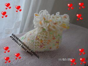 Bebek patiği dikişsiz